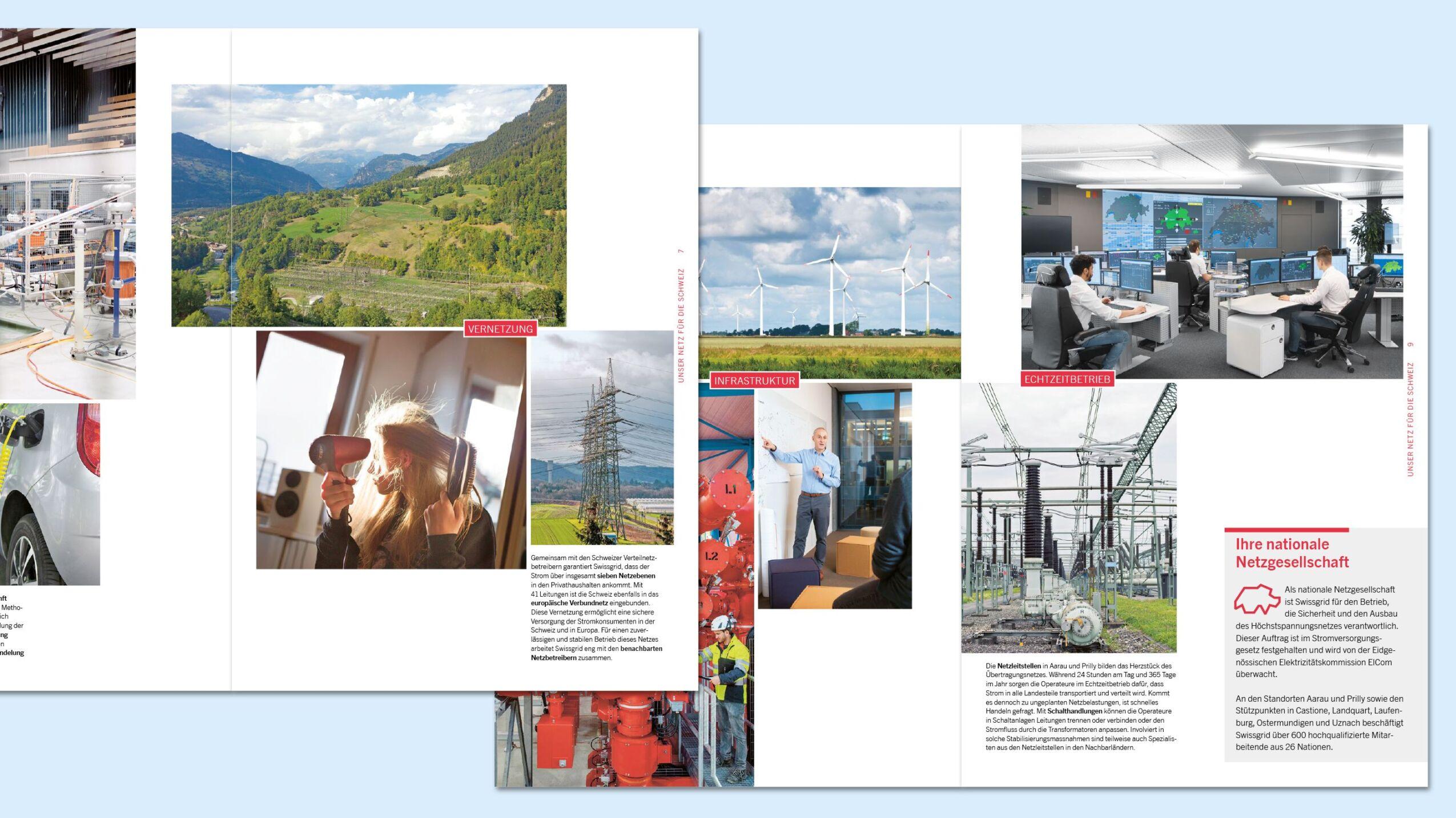 Jahresberichterstattung für die Swissgrid